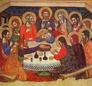 Holy Thursday, April 17