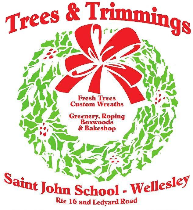 Trees and Trimmings THIS Saturday, December 7 from 9am to 5pm