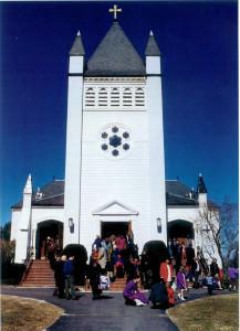 After Mass - circa 1996