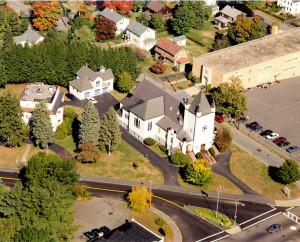 Aerial View of Parish, circa 1997