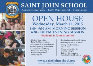 SJS 5x7 Card March Open House