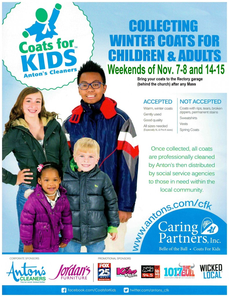 Coats for Kids Saint John Poster_2015