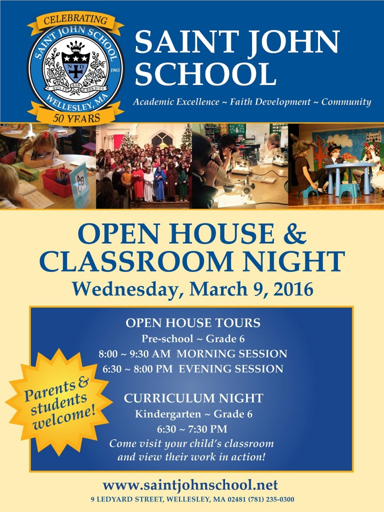 Open House March 2016 Poster_Smaller