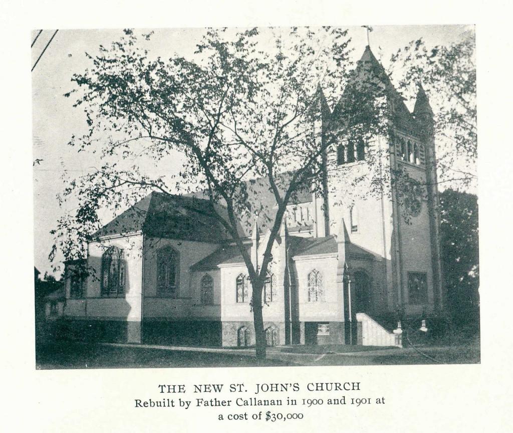 The New St. John Church circa 1901