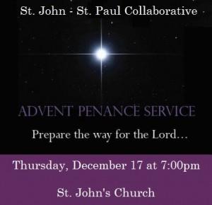 Advent penance service_2015